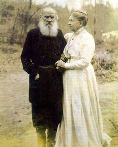 Sofja Andrejewna Tolstaja & Lew Nikolajewitsch Tolstoi
