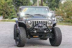 Custom 2015 Jeep Wrangler Unlimited Rubicon Tank - Rigid Industries D2 Pods