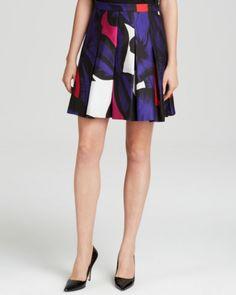 DIANE von FURSTENBERG Skirt - Gemma Poppy | Bloomingdales's