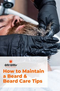 Being a beardsman goes well beyond just growing your beard. It takes consistent, proper care to keep your beard looking healthy and manageable.But it doesn't have to be complicated. There are only 5 key steps you need to take to maintain an enviable beard. Find out now. Hair And Beard Styles, Short Hair Styles, Vitamins For Beard Growth, Growth Supplements, Best Beard Oil, Natural Beard Oil, Beard Tips, Beard Look, Full Beard