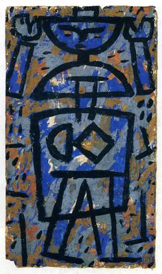Paul Klee. « Haut les mains » 1938.