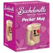 BACHELORETTE PARTY FAVORS - PECKER MUG  - sex toys perth www.sextoysperth.com.au