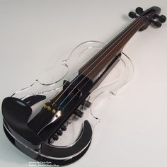 Atelier Silhouette Electric Violin (Clear/Black) | Electric Violin Shop