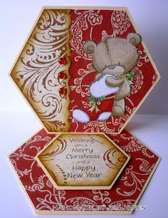 Phoenix Crafts: CES Challenge - Easel Christmas Card