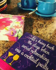 A well placed creative napkin provides extra flair, starts conversation and won't go unnoticed.