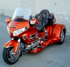 have a ride (maybe even learn to ride) one of these beauties: the Honda Goldwing Trike.