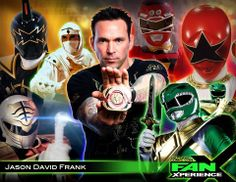 Welcome Jason David Frank to #FanX! Best known as Tommy Oliver aka Green #PowerRanger!