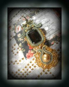 earrings soutache di  https://www.facebook.com/MagicaMoon