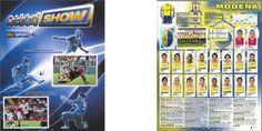 Calciatori show and Modena Second league team from panini calciatori album season 2011-12