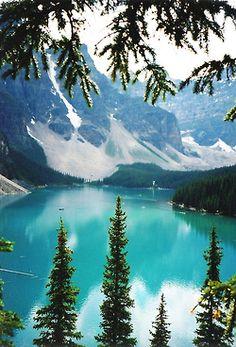 greaterland:  Moraine Lake- Banff National Park, Alberta, Canada