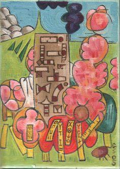 Gerald Shepherd: Young Girl In A Garden 2