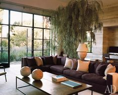 Ранчо в Калифорнии, оформленное в европейском стиле Александрой и Майклом Миссински | Admagazine | AD Magazine
