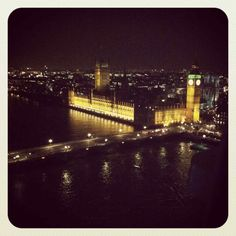 The lights of London: An evening ride on the London Eye