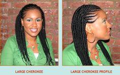 Cherokee with Hair