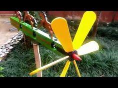 Wind-Driven Mechanical Whirligig Starter Kit - YouTube
