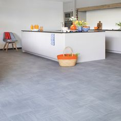 The tranquil color shade and modest design feature this vinyl flooring. Has a wear layer of 0.40mm on a 2.0mm thickness scale. R-10 slip resistance rating makes it suitable for heavy traffic and slippery areas of your home. Delivers a warranty of 10 years.