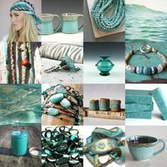 for Rosey ..Gypsy Soul -  Teal,      #EtsyTreasury #turquoise #brenmason