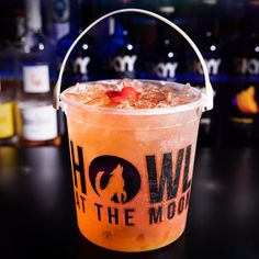 Check out Howl at the Moon's drinks selections. Looking to book a party? We can host all types of parties and events: bachelor parties, bachelorette parties, corporate events, holiday parties, birthday parties and more. Drinks Alcohol Recipes, Cocktail Recipes, Alcoholic Drinks, Cocktails, Beach Drinks, Party Drinks, Summer Drinks, Party Venues, Event Venues