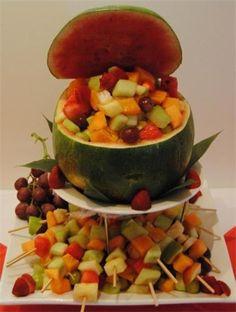 Frukt sallad, fruit sallad