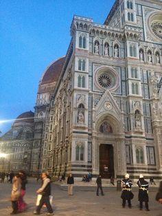 The Basilica di Santa Maria del Fiore  Florence, Italy    Architecture and immense detail