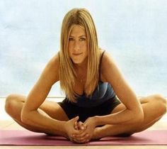 Jen Aniston, pilates girl since the 90's
