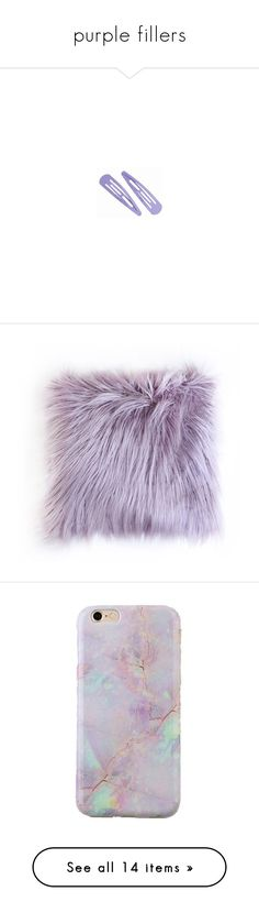 """""""purple fillers"""" by sinyukovayulya ❤ liked on Polyvore featuring fillers, purple fillers, accessories, purple, hair, home, home decor, throw pillows, filler and textured throw pillows"""