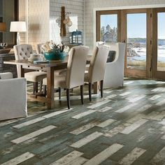 Armstrong Architectural Remnants To The Sea Sea Glass Teal L6631 Laminate Flooring