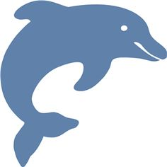 22 Best Dolphins images | Dolphins, Dolphin silhouette, Stencil