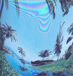 grunge, beach, and palm trees image Pale Tumblr, Image Internet, Grunge, Foto Fun, New Retro Wave, Safari, Art Textile, Photoshop, Glitch Art