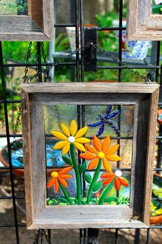 love this stained glass, fused glass window!