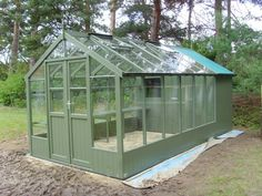 Swallow Raven greenhouse shed combo
