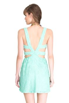 vestido renda tira na cintura - Vestidos   Dress to