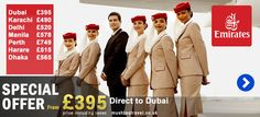 cheap flight offers for dubai and the uae from london. birmingham and manchester depart 01 Jun to 30 Nov 2013 call mushtaq travel for further details.