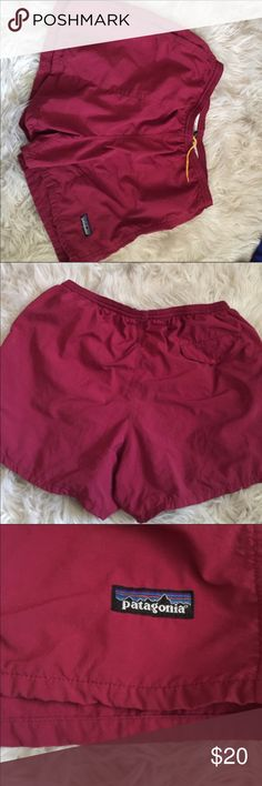 Red Patagonia swim trunks Size Medium, No Flaws, EVERYTHING MUST GO!! I AM MOVING AND NEED EVERYTHING GONE. PLEASE FEEL FREE TO MAKE AN OFFER! SHIPS TODAY! Patagonia Shorts
