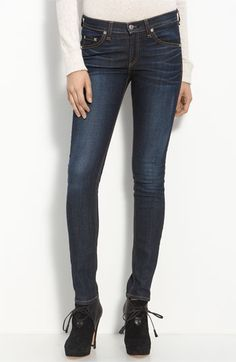 Damn you Gwyneth Paltrow for making me buy these!  rag & bone/JEAN Skinny Stretch Jeans available at #Nordstrom