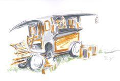 Glamping, Vintage, Car, Gypsy Wagon, Automobile, Go Glamping, Vintage Comics, Autos, Cars