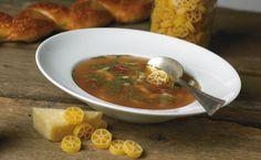 Lunch: Italian Bean and Pasta Soup. #EpicureWLW #ItalianFood