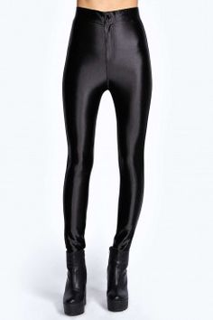 Beci High Waisted Super Skinny Disco Pants - Disco Pants - Trousers - Clothing