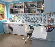 Craft room makeover - Better Homes and Gardens - Tara Dennis