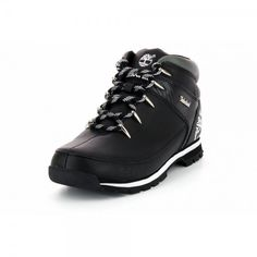 New Timberland Euro Sprint Hiker Mens Leather Boots Shoes NIB All Colors Sizes , Timberland Hiking Boots, Timberland Mens, Leather Boat Shoes, Leather Boots, Mens Sneaker Boots, Safety Work Boots, Black Timberlands, Leather Men, Shoe Boots