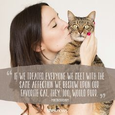 This wraps up our love for kitties in a nutshell.