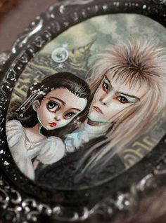 The Labyrinth - miniature painting by Mab Graves by mab graves, via Flickr