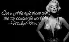 Marilyn Monroe. Uh yeah-shoes! ;)