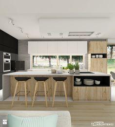 Kuchnia - w poszukiwaniu ideału. - zdjęcie od NEFA Architekci - Kuchnia - Styl Nowoczesny - NEFA Architekci