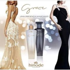 Perfumes Hinode - Grace e Grace Midnight , para aquelas que amam perfumes marcantes Dior Perfume, Prom Dresses, Formal Dresses, How To Make, Women, Msgm, Lany, Product Design, Avon