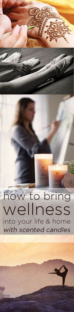 The Chesapeake Bay Mind & Body collection was especially crafted to bring a sense of wellness into your life and into home thanks to its essential-oil infused fragrances, natural look, and soft color palette -- www.chesapeakebaycandle.com