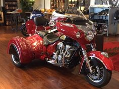 2015 Indian Chieftain With A Hannigan Trike Conversion