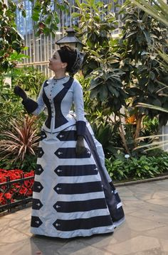 1874 day dress