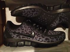 Must have. Animal Print Nike Runners