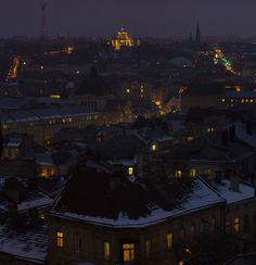 Evening Lviv. by Petro Romanchuk on 500px